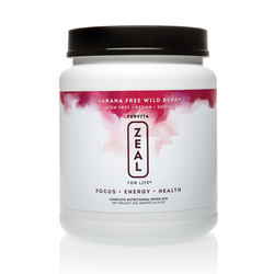 Zeal Canister - Wild Berry (Guarana Free)