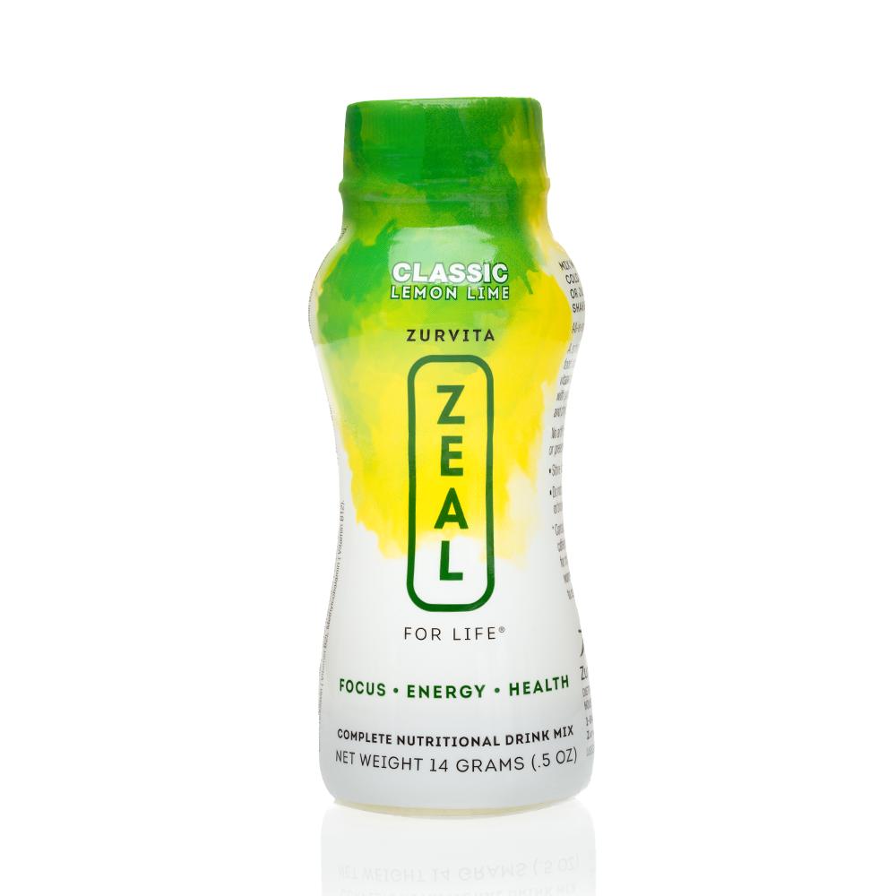 Single-Serving Zeal - Lemon Lime (seasonal)