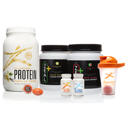 Zeal+ Transformation System - Citrus Surge Zeal+ / Chocolate Delight Protein