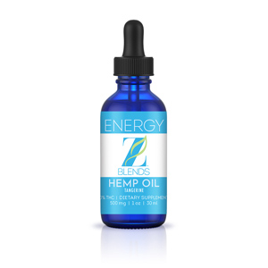 Z-Blends Hemp Oil - Energy - Z-Blends Hemp Oil - Energy