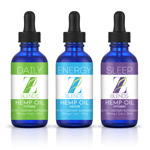 Z-Blends Hemp Oil - Mix Pak