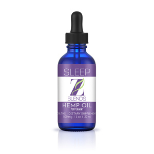 Z-Blends Hemp Oil - Sleep - Z-Blends Hemp Oil - Sleep