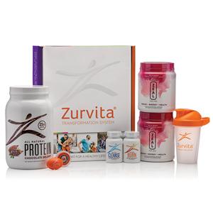 Zurvita Transformation System - Wild Berry Zeal / Chocolate Delight Protein