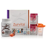 Zurvita Transformation System - Bold Grape Zeal (Guarana Free) / Vanilla Crème Protein