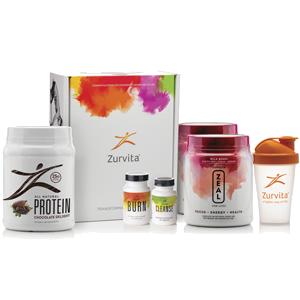 Zurvita Transformation System - Bold Grape Zeal / Chocolate Delight Protein