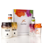 Zurvita Transformation System - Bold Grape Wellness (Guarana Free) / Vanilla Crème Shakes