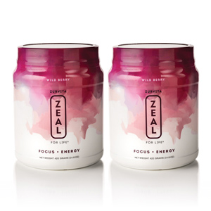 Wellness Pak - 2 Zeal Canisters